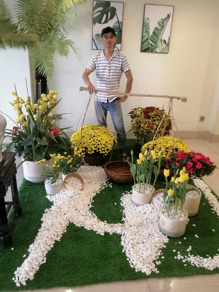 cỏ nhân tạo - vườn cây đại phú